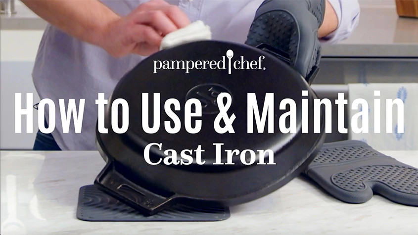 how to use maintain cast iron