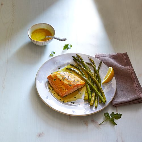 Carolina Barbecue Salmon